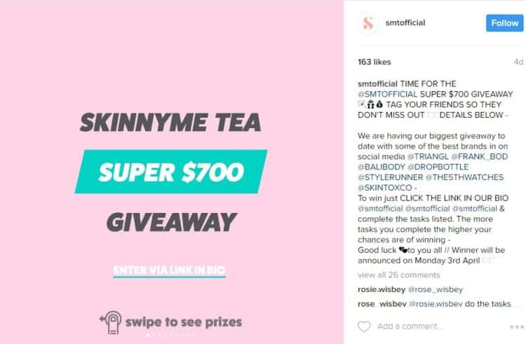 how to get 10k followers on instagram using giveaways