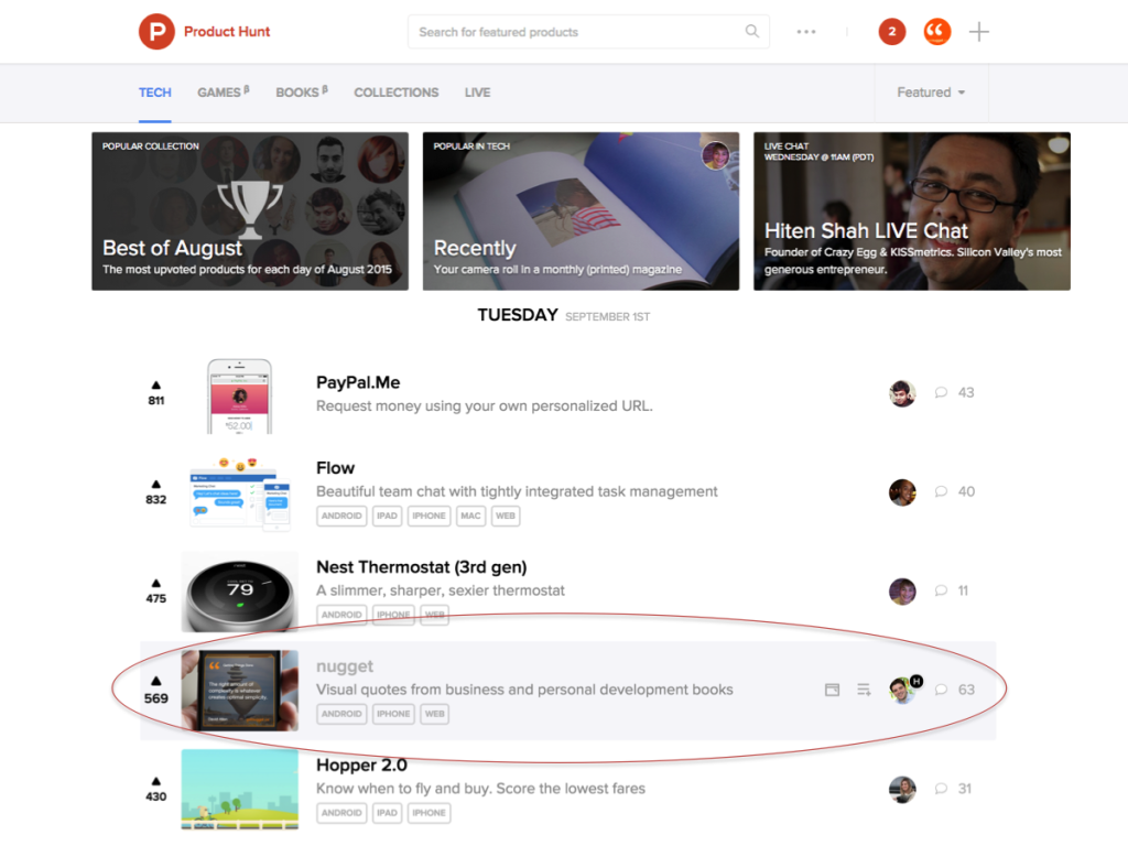 how to launch on product hunt