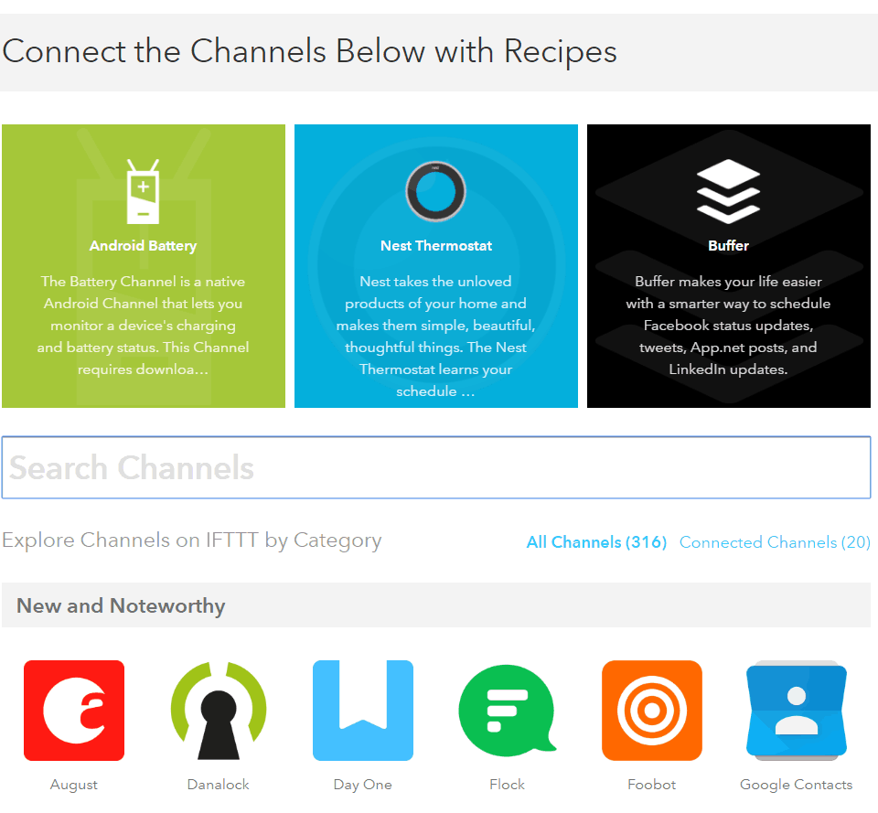 automate your social media recipes