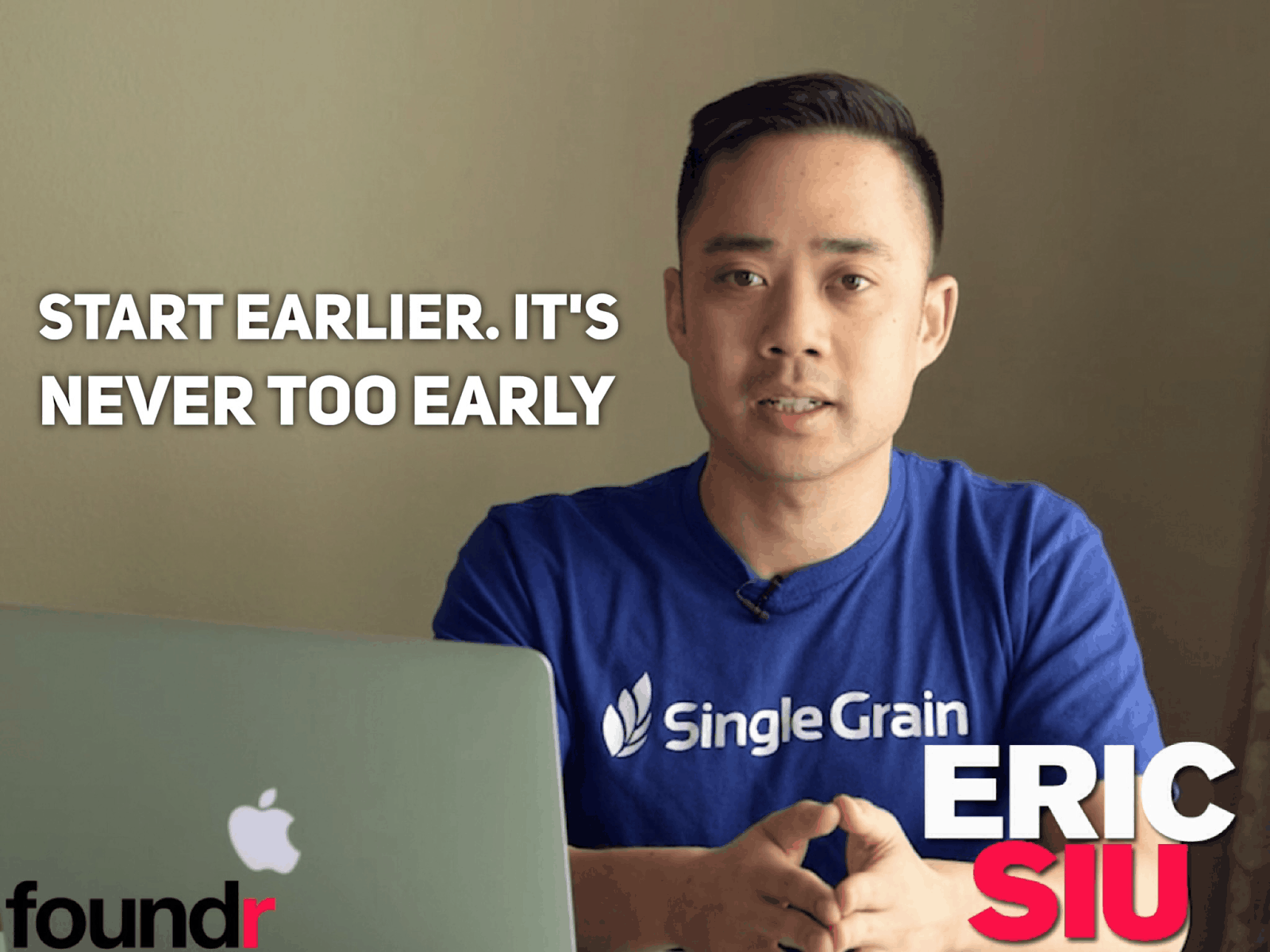 how to start a startup eric siu