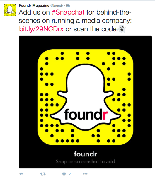 get more snapchat views foundr