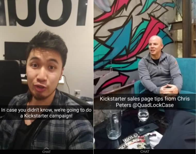 how to get more snapchat views behind the scenes