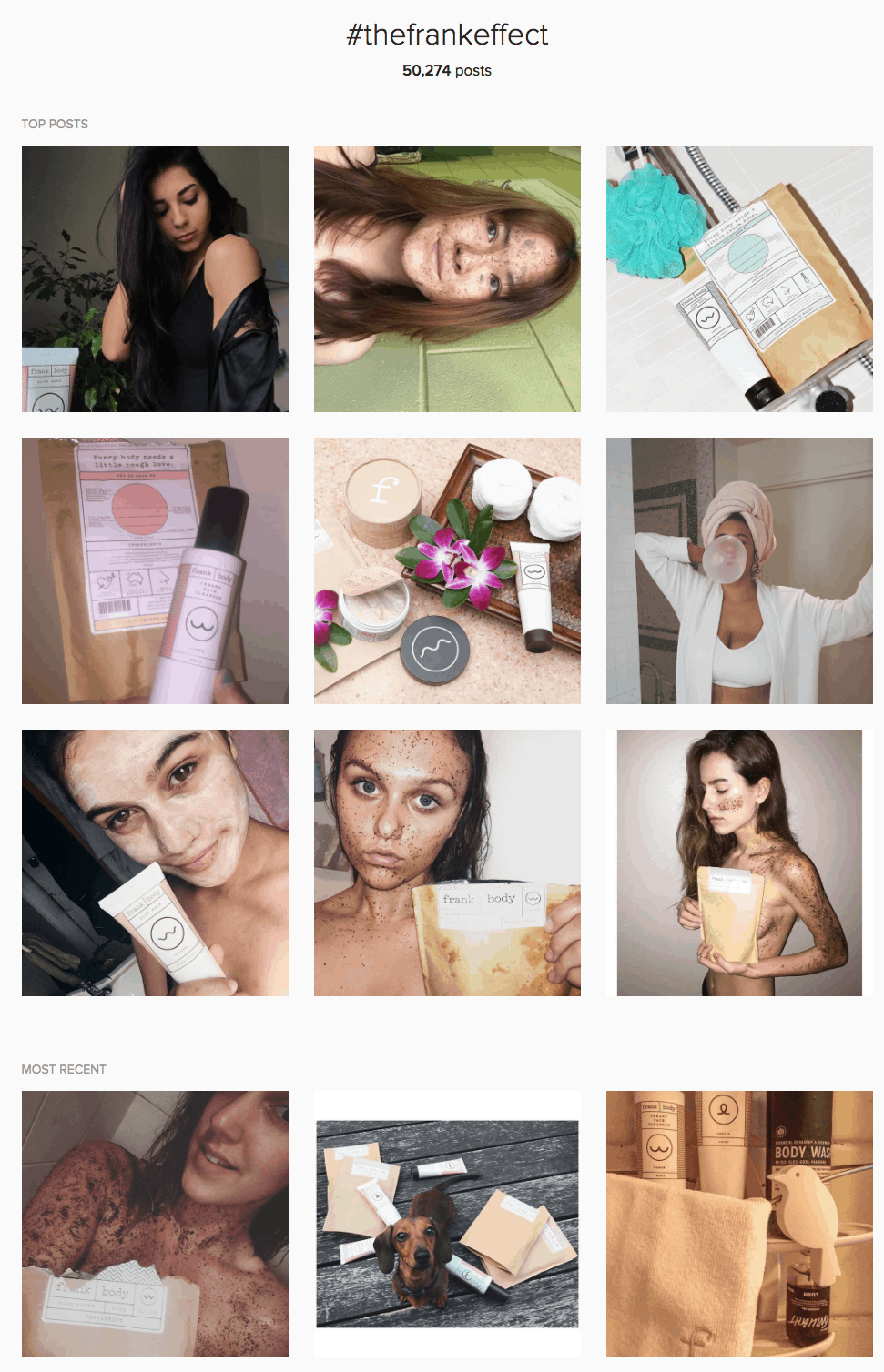 Increase Your Instagram Followers frank bod hashtags