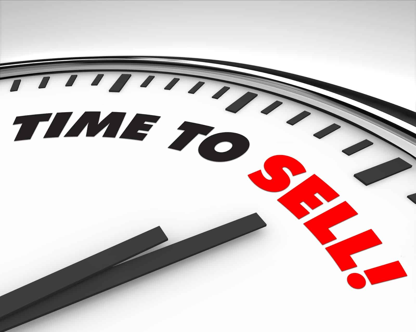 Validate Your Business Idea Time To Sell Clock