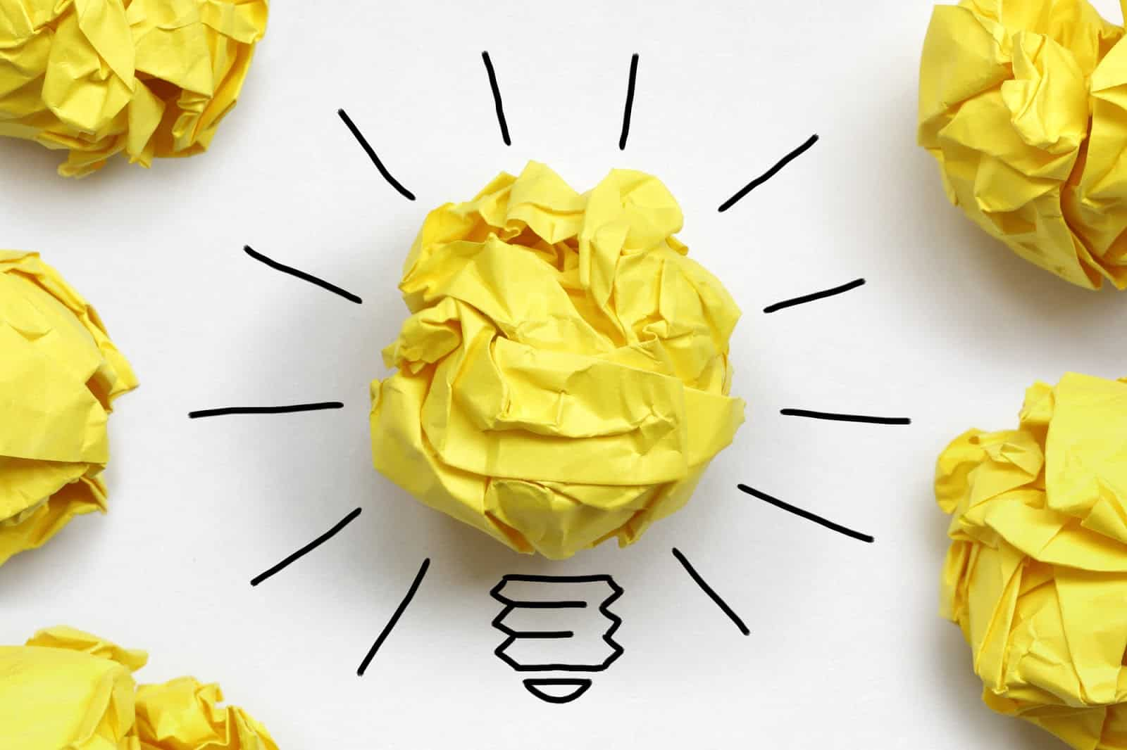Validate Your Business Idea Idea Paper Light Bulb
