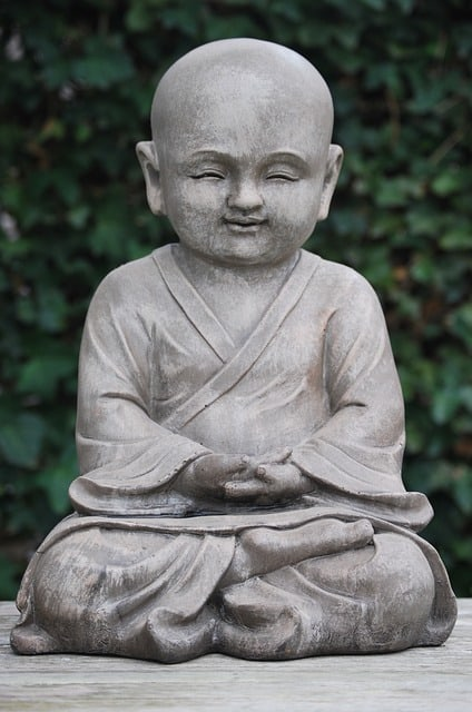 Beating anxiety - buddha