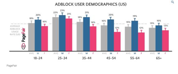 Micro influencers- Adblock User Demographics