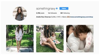Micro influencers- SomethingNavy Instagram