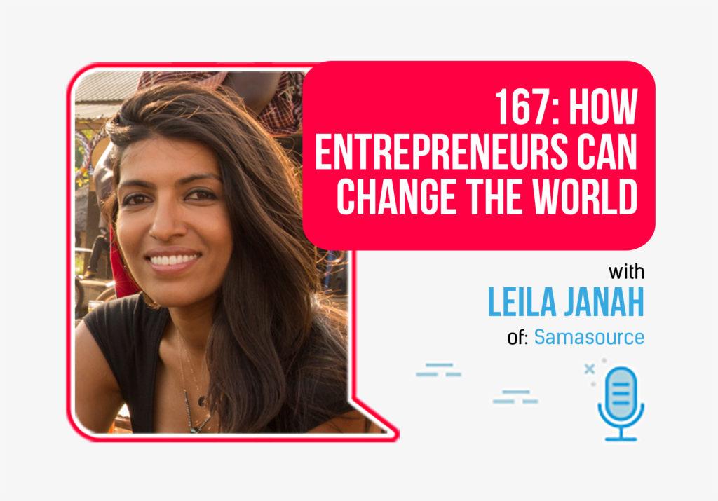 Leila janah foundr podcast episode