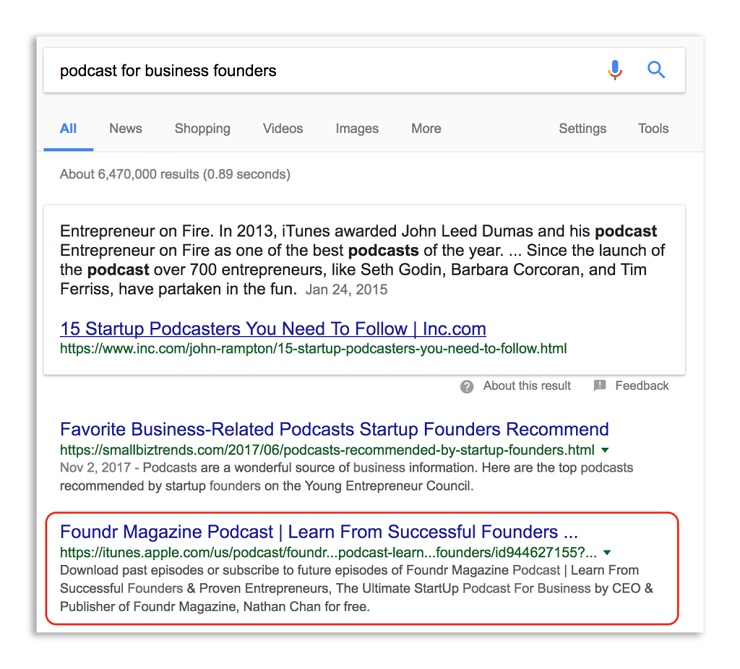 Use tricks and techniques in searching for keywords for Search engine optimization