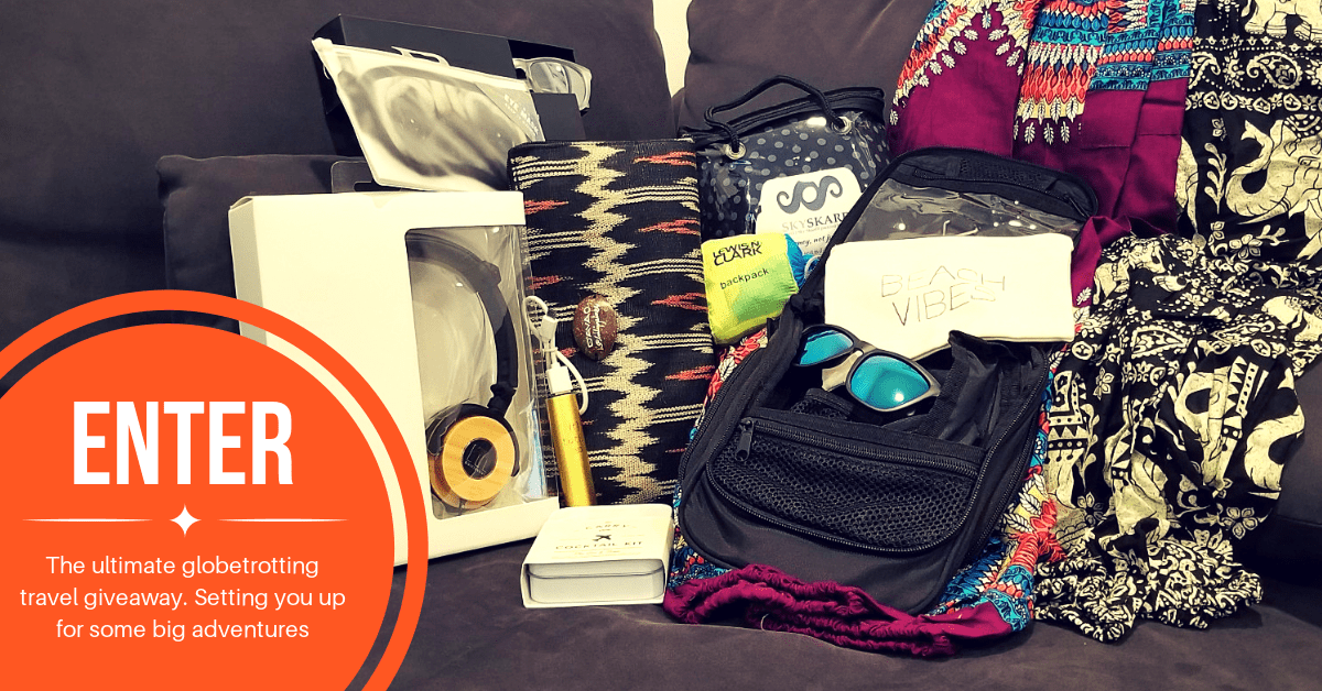 Build contests travel blogger using promotional products as a prize