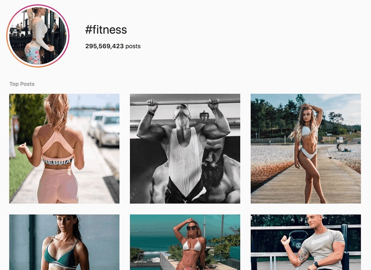 search for your industry's influencers in instagram's top bar marketing strategy for ecommerce business