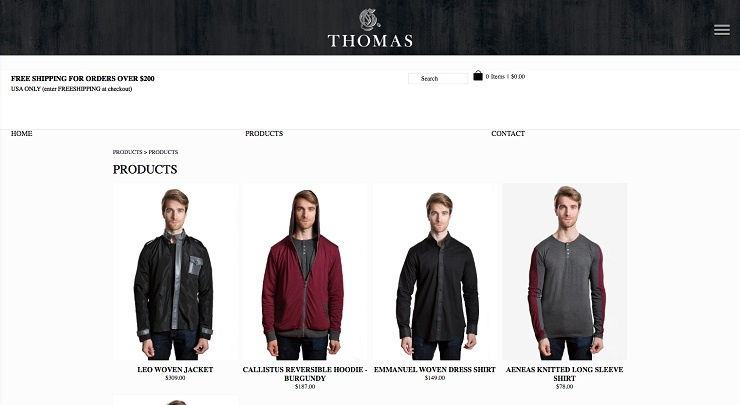 Products G Thomas