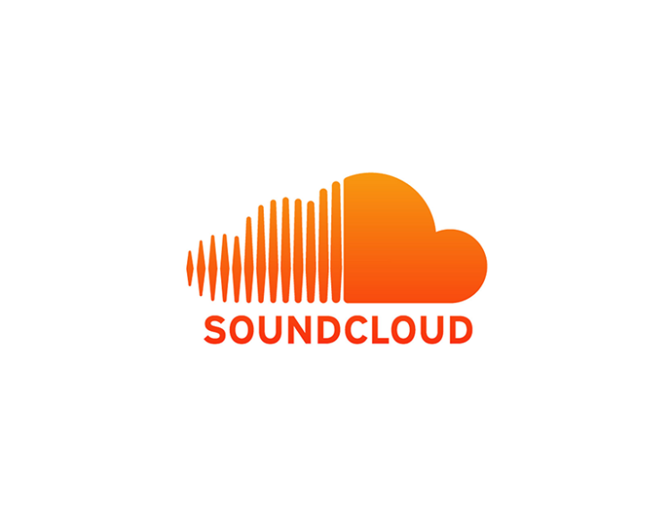 soundcloud logo branding orange color