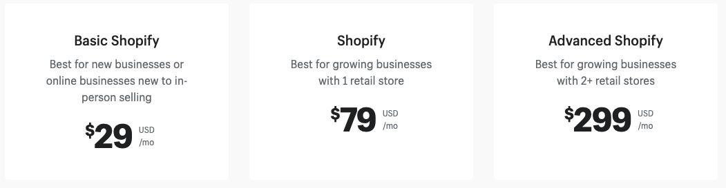 shopify prices wordpress vs shopify ecommerce